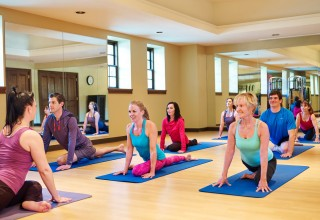 Yoga at the Athletic Club