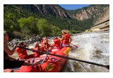 Rafting through Glenwood Canyon is a thrilling experience