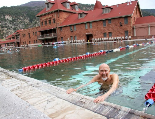 Life in the Lap Lanes: Glenwood Hot Springs Patron, 98, Keeps on Swimming