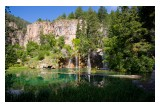 Beautiful Hanging Lake in Glenwood Canyon