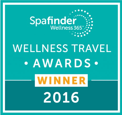 Spafinder Wellness Travel Awards Crowns Spa of the Rockies a Winner in Two Categories